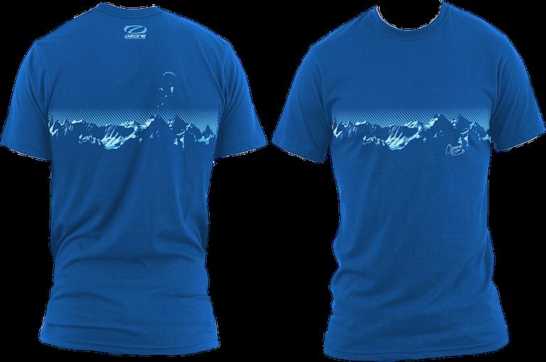 Ozone Mountain Tee Blue